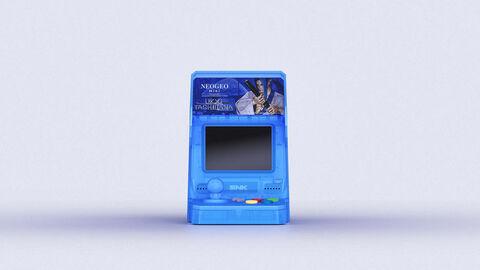 Neo Geo Mini Samurai Shodown Ukyo Tachibana Bleue