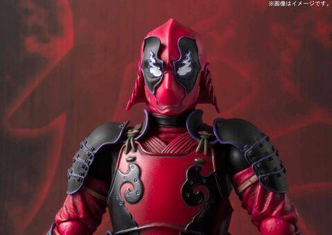 Figurine Tamashii Nations - Marvel - Deadpool  Meisho 16 cm