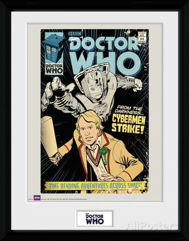 Collector Print - Doctor Who - Cybermen Strike