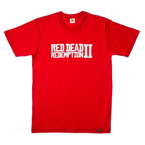 T-shirt - Red Dead Redemption 2 - Logo Taille L (exclu Gs)