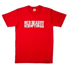 T-shirt - Red Dead Redemption 2 - Logo Taille M (exclu Gs)