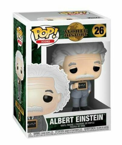 Figurine Funko Pop! N°26 - Icons - Albert Einstein