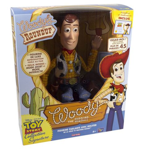 Figurine - Toy Story - Shérif Woody Collection Signature