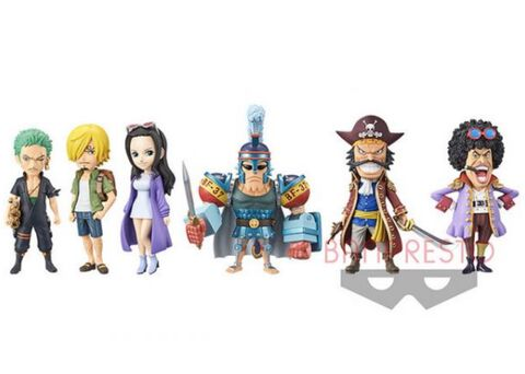 Figurine Movie World Collectable - One Piece - Assortiment 6 Figurines