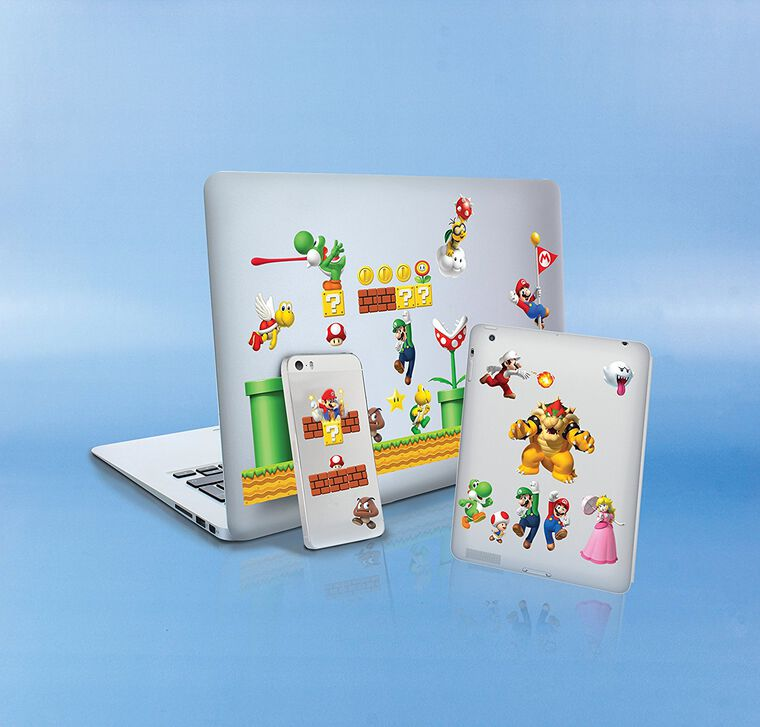 Stickers - Nintendo - Super Mario - Assortiment