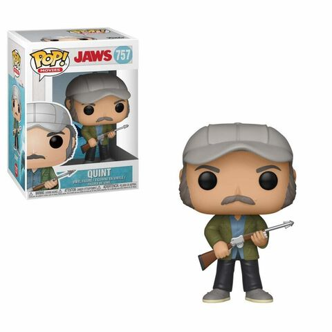 Figurine Funko Pop! N°757 - Les Dents de la Mer - Quint