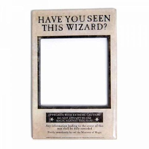 Magnet à photo - Harry Potter - Have You Seen This Wizard ?