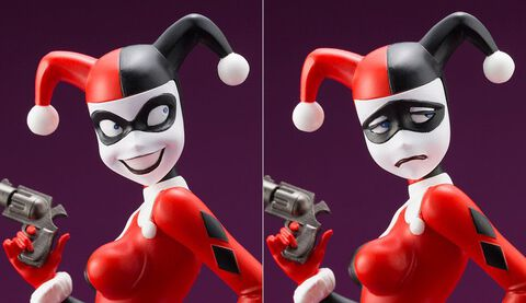 Statuette Kotobukiya - Dc Comics - Harley Quinn (batman: The Animated Series) Ar