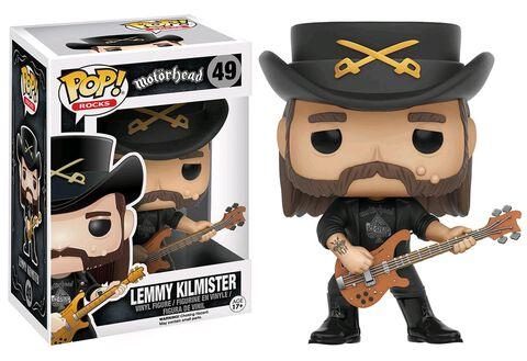 Figurine Funko Pop! N°49 - Lemmy Kilmister