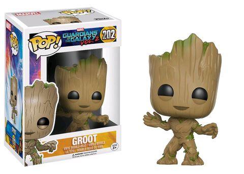 Figurine Funko Pop! N°202 - Les Gardiens de la Galaxie 2 - Groot