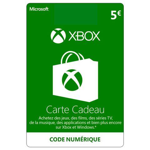 Xbox Live 5 Euros Xbox 360 - Xbox One.