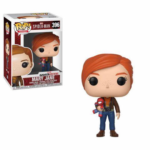 Figurine Funko Pop! N°396 - Spider-Man - S1 Mary Jane avec peluche