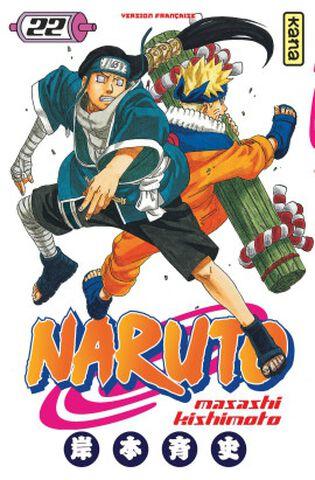 Manga - Naruto - Tome 22
