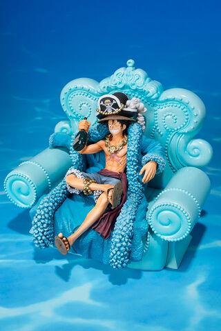 Statuette Figuarts Zero - One Piece - Luffy 20th Anniversary Diorama