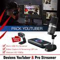 Pack Youtuber Pro Steamer Avermedia