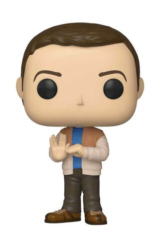 Figurine Funko Pop! N°776 - The Big Bang Theory - S2 Sheldon Cooper