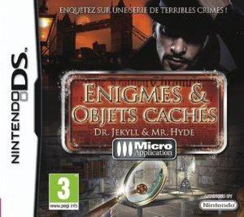 Enigmes & Objets Caches, Dr. Jekyll & Mr. Hyde
