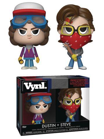 Figurine Vynl - Stranger Things - Twin Pack Steve et Dustin
