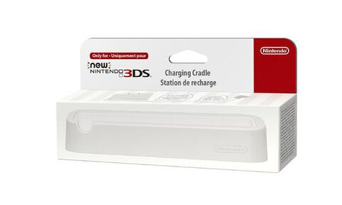 Station de recharge Blanche New 3DS