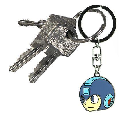 Porte-cles - Megaman - Tête Megaman