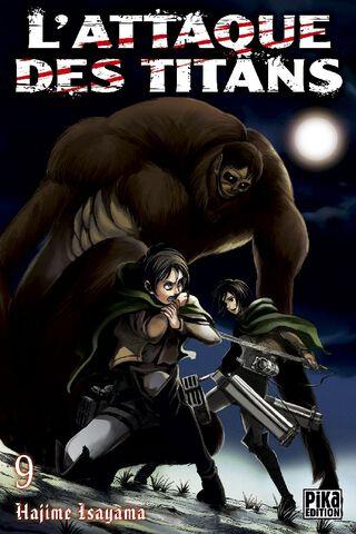 Manga - L'attaque des Titans - Tome 09