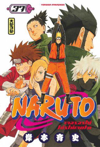 Manga - Naruto - Tome 37
