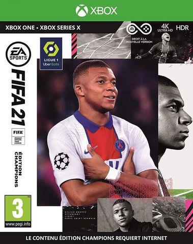 FIFA 21 Edition Champions - Versions Xbox Series et