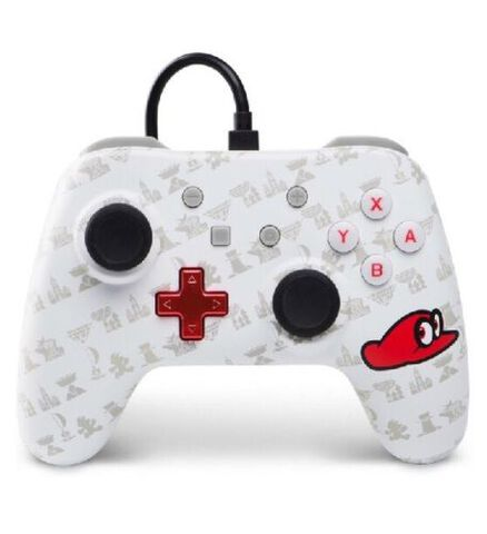 Manette filaire Nintendo Switch Mario Odyssey