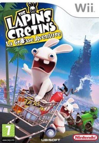 The Lapins Cretins, La Grosse Aventure