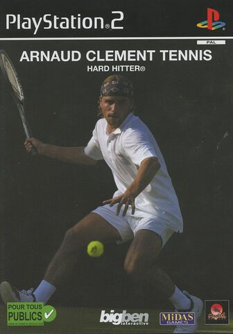 Arnaud Clement Tennis Hard Hitter