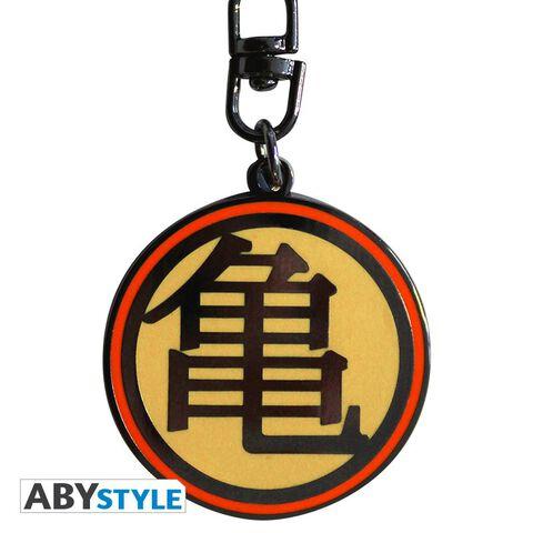 Porte-clés - Dragon Ball Z - Kame Symbol Rond