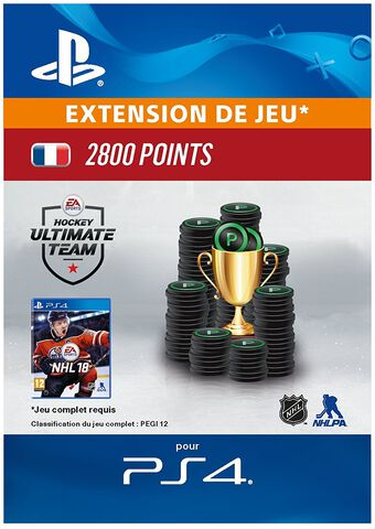 Dlc Nhl 2018 - Ultimate Team Nhl 2 800 Points Ps4