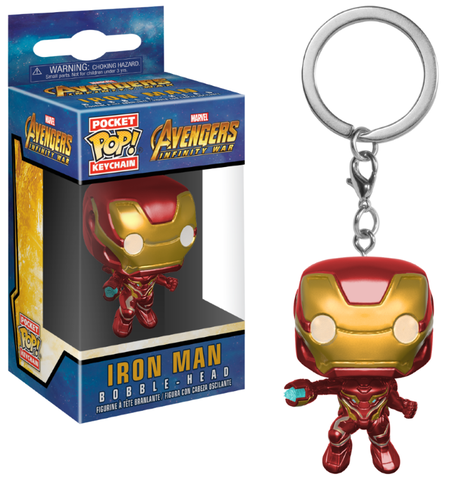 Porte-clés - Avengers Infinity War - Iron Man