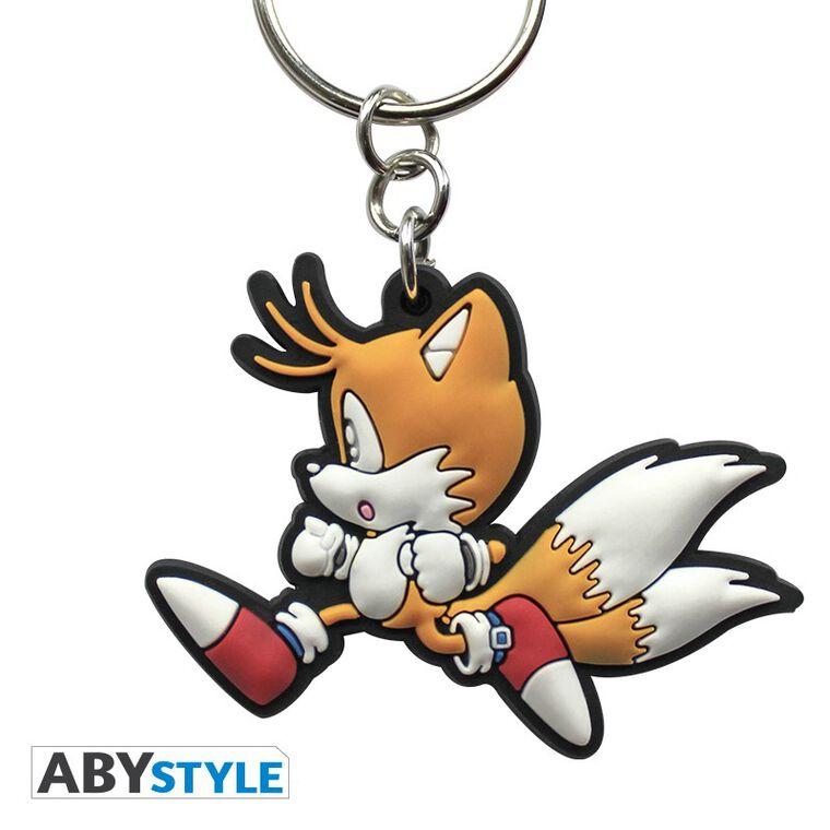 Porte-clés - Sonic - Tails PVC