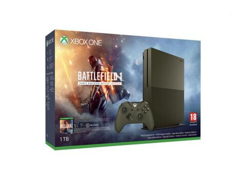 Pack Xbox One S 1to Edition Spéciale Battlefield 1