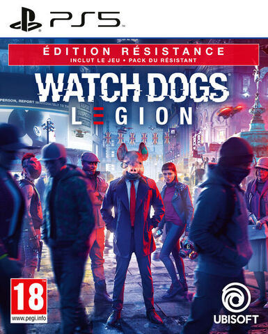 Watch Dogs Legion Edition Resistance Exclusivite Micromania