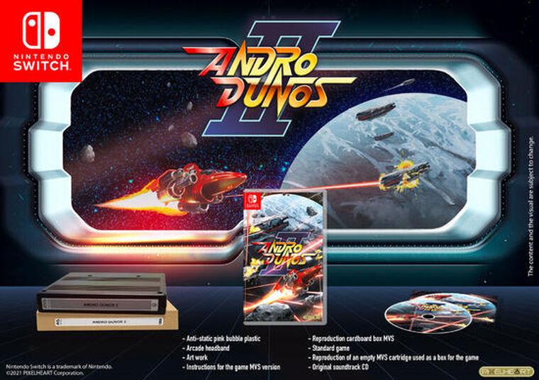 Andro Dunos 2 Mvs Edition