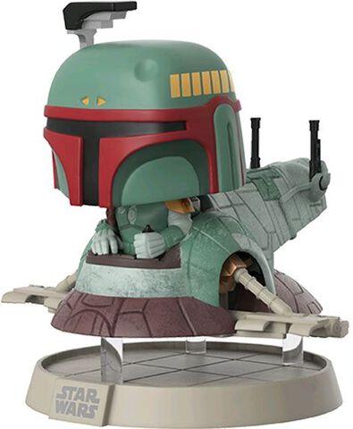 Figurine Toy Pop N°213 - Star Wars - Boba Fett sur son Vaisseau - NYCC 2017