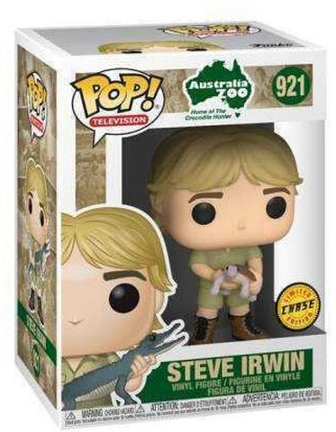 Figurine Funko Pop! N°921 - Crocodile Hunter - Steve Irwin ( C )