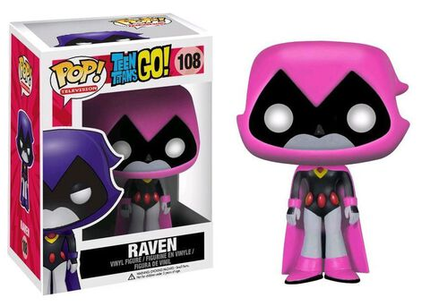 Figurine Funko Pop! N°108 - Teen Titans Go ! - Raven En Rose
