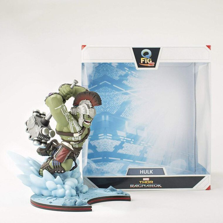 Statuette Q-fig Max - Thor : Ragnarok - Diorama Hulk 18 cm