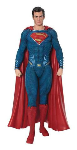 Statuette Kotobukiya - Justice League Movie - Superman Artfx   St