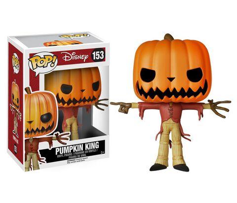 Figurine Funko Pop! N°153 - L'etrange Noel De Mr. Jack - Pumpkin King