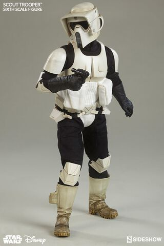 Figurine Sideshow - Star Wars Episode VI Figurine - Scout Trooper 1/6