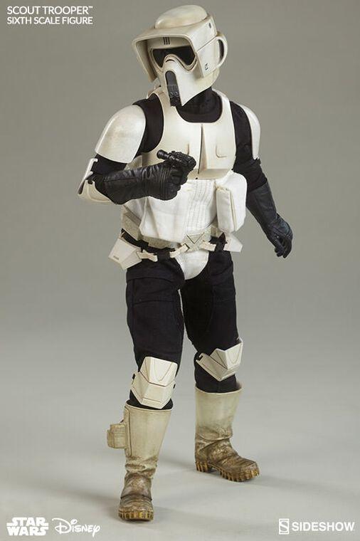 Figurine Sideshow - Star Wars Episode VI Figurine - Scout Trooper 1/6