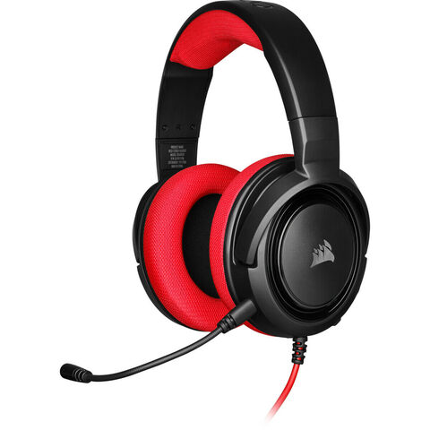 Casque Filaire Corsair Hs35 Rouge Switch
