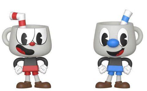 Figurine Vynl - Cuphead - Twin Pack Cuphead et Mugman