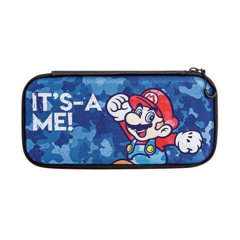 Sacoche licence officielle Mario camo design