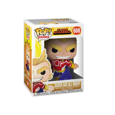 Figurine Funko Pop! N°608 - My Hero Academia S3 - All Might (silver Age)