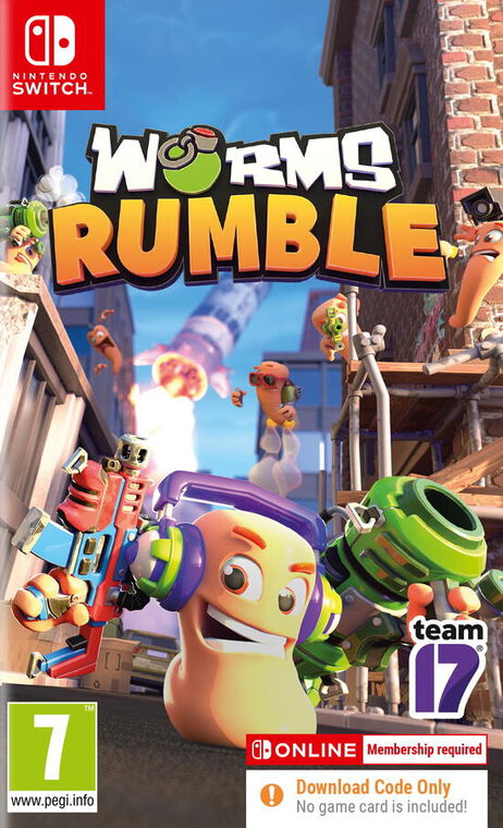 Worms Rumble Fully (code In A Box)